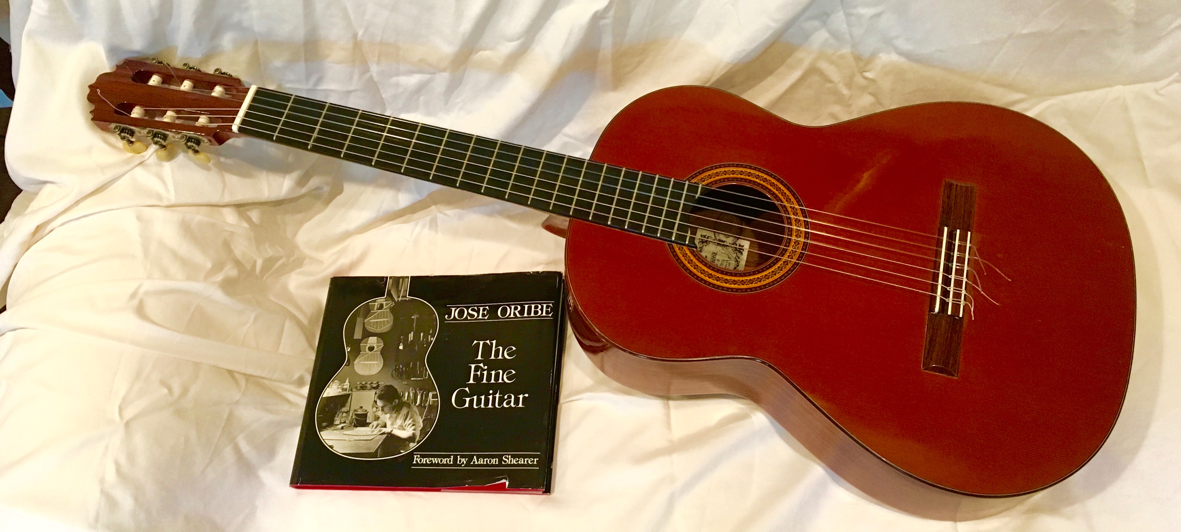 *Oribe guitar, case and book (1)